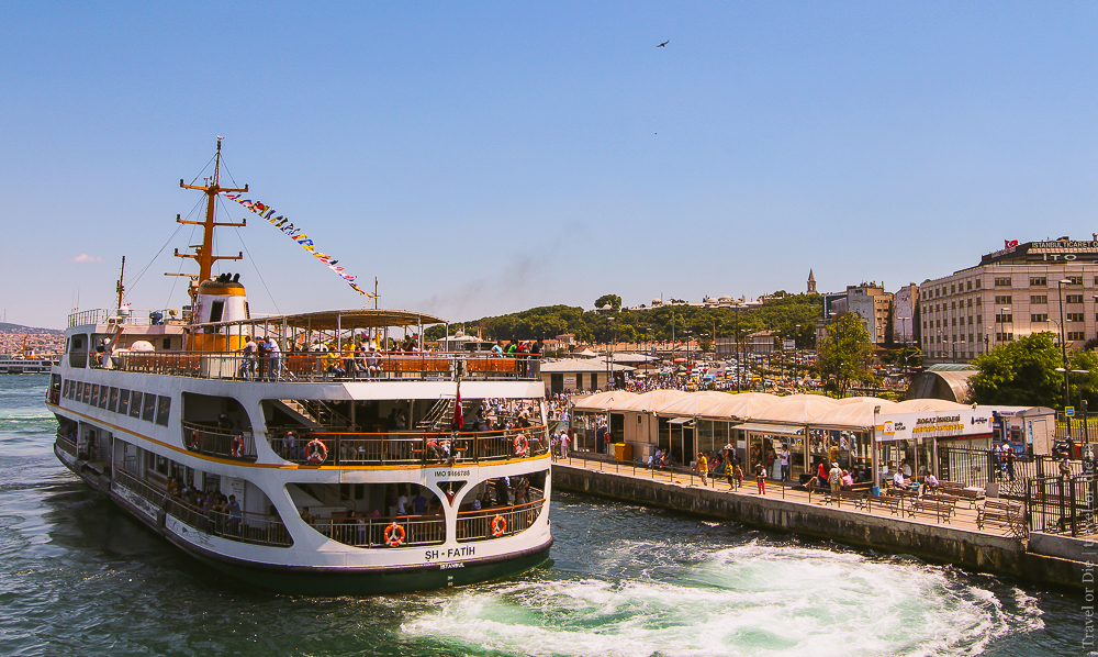 Прогулка по Босфору в Стамбуле: круизы, экскурсии, цена