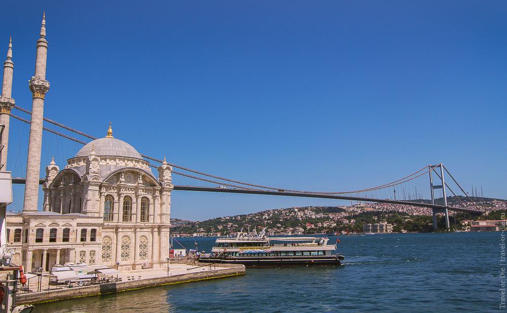 Мечеть Ортакёй в Стамбуле: экскурсии, как добраться