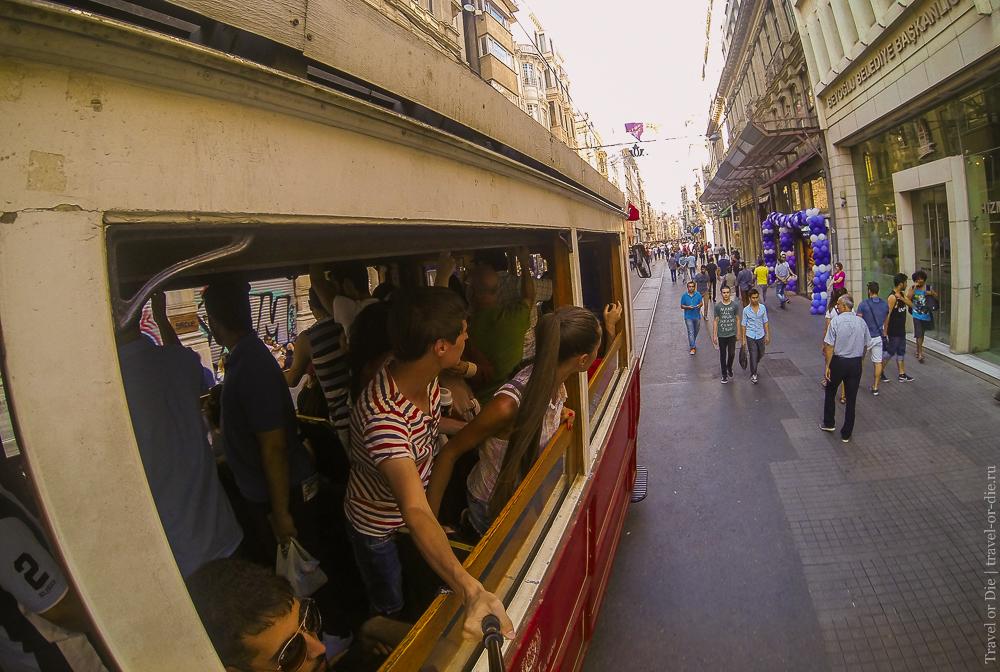 Улица Истикляль в Стамбуле: экскурсии
