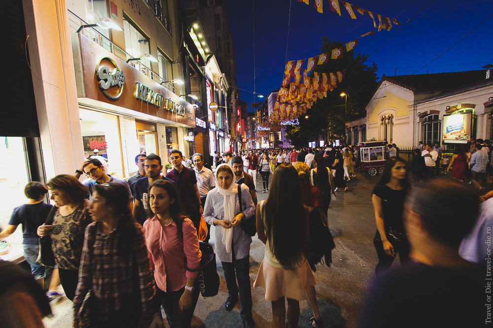 Улица Истикляль в Стамбуле: экскурсии, история, где находится