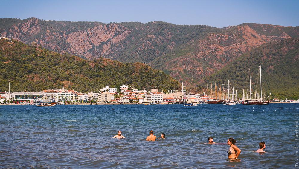 Мармарис, Турция. Пляжи Мармариса