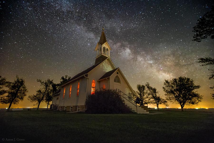 Дакота, Млечный Путь. Автор фото: Аарон Дж. Гроен
