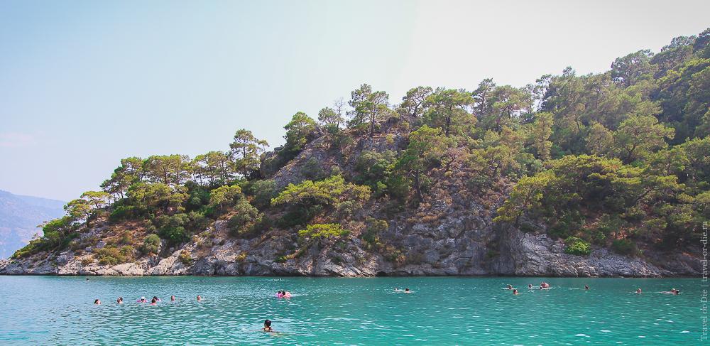 Пляжи Олюдениза Голубая лагуна Бельджекиз