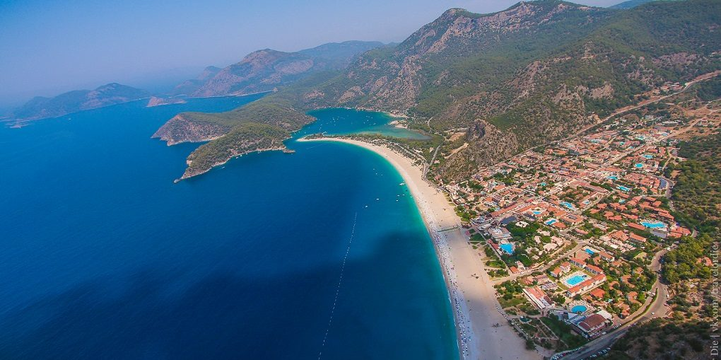 Пляжи Олюдениза, Турция - Голубая лагуна и Бельджекиз