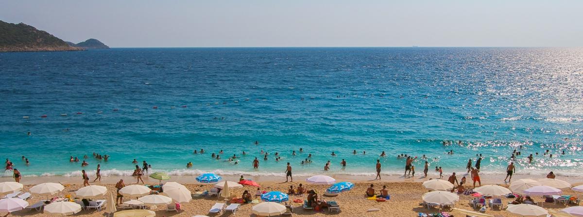 Пляж Капуташ, Турция / Kaputas Beach, Turkey