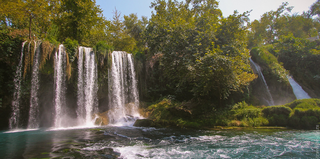 Водопады в Анталии: Верхний и Нижний Дюден, Куршунлу