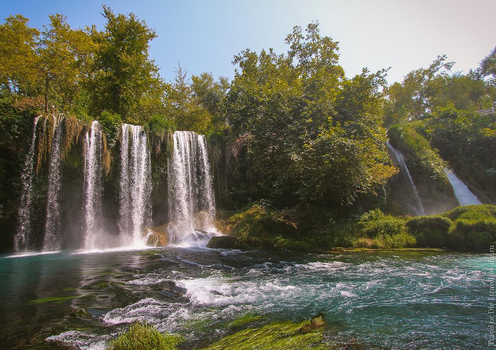 Водопады Анталии: Верхний и Нижний Дюден, Куршунлу