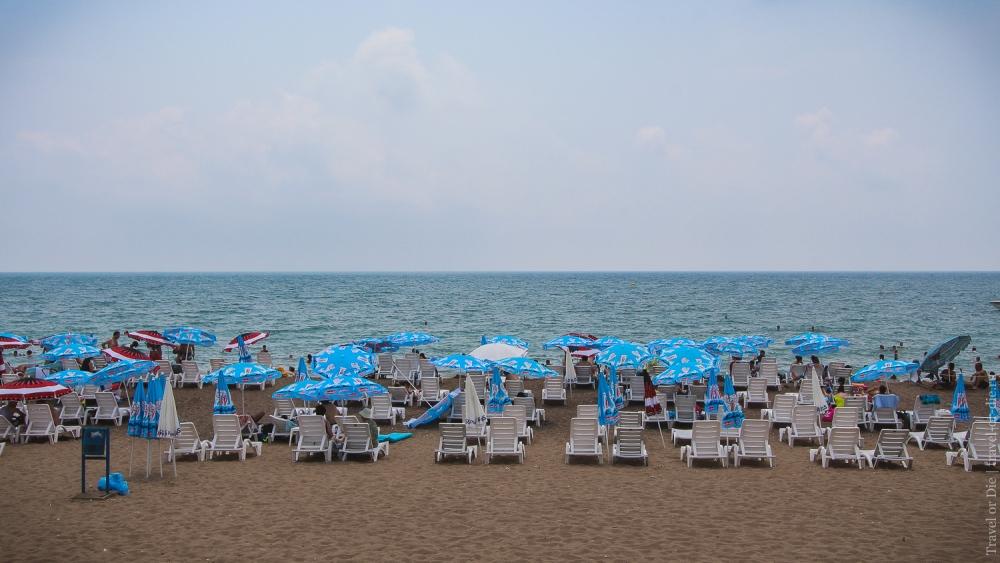 Анталия (Анталья). Пляжи Анталии. Пляж Лара