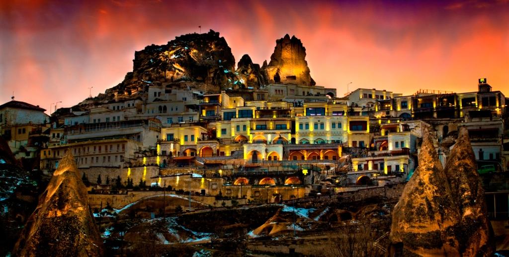 Отели Каппадокии. Cappadocia Cave Resort & Spa