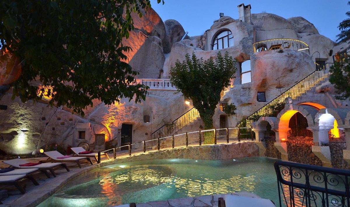Отели Каппадокии. Gamirasu Cave Hotel