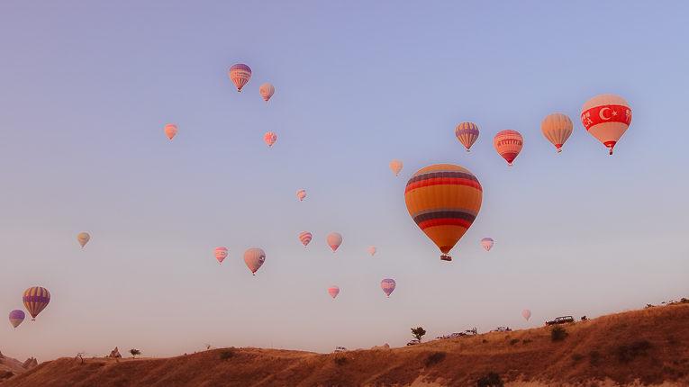 Полёт на воздушном шаре в Каппадокии, Турция