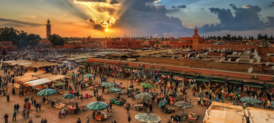Дешевые авиабилеты Санкт-Петербург ⇄ Марракеш (Марокко)
