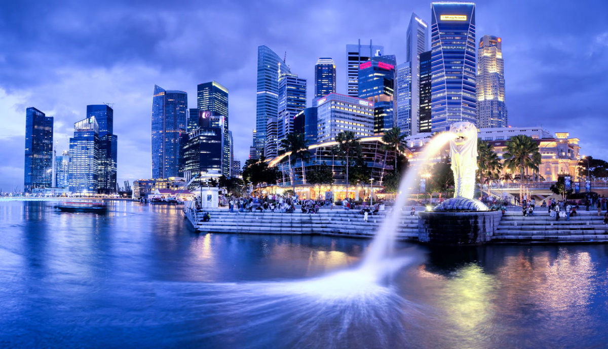 Дешевые авиабилеты Санкт-Петербург - Сингапур
