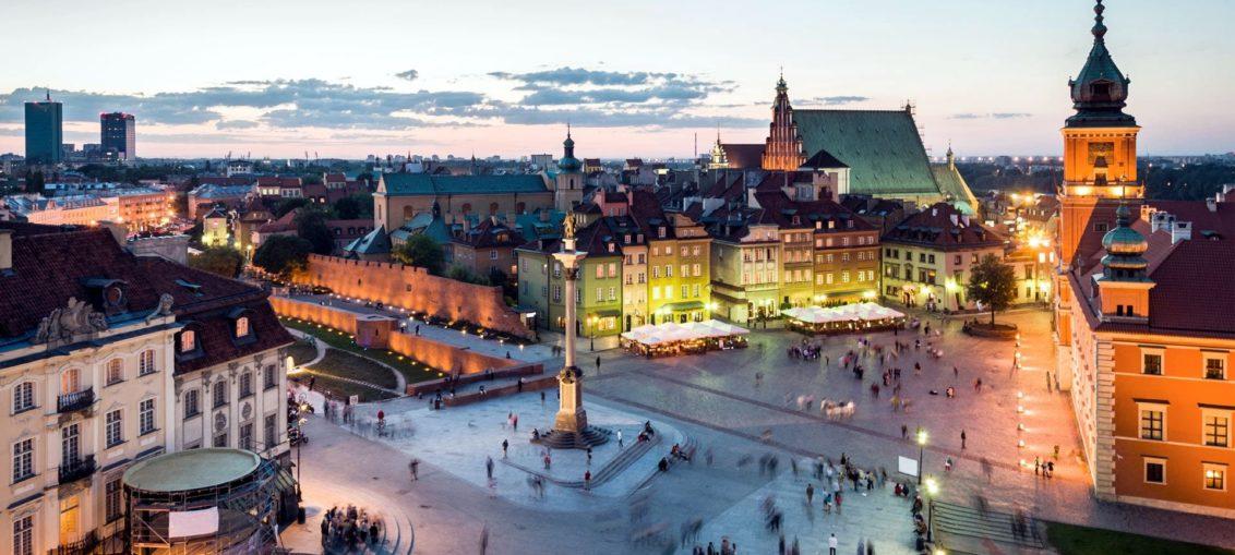 Дешевые авиабилеты Москва - Варшава (Польша)