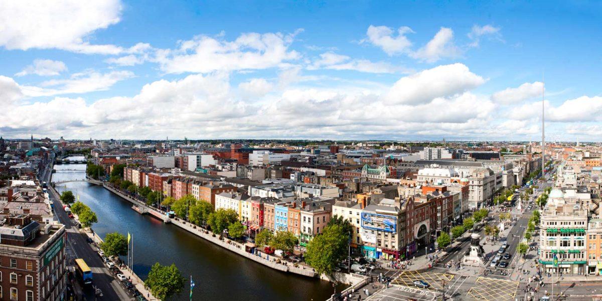 Дешевые авиабилеты Санкт-Петербург - Дублин (Ирландия)