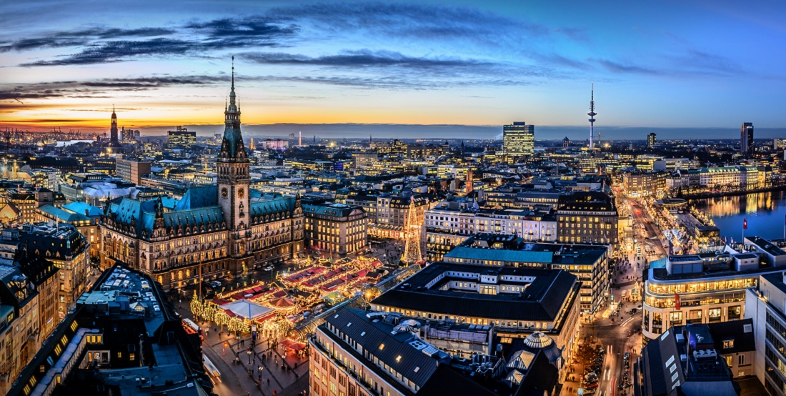 Дешевые авиабилеты Санкт-Петербург - Гамбург (Германия)