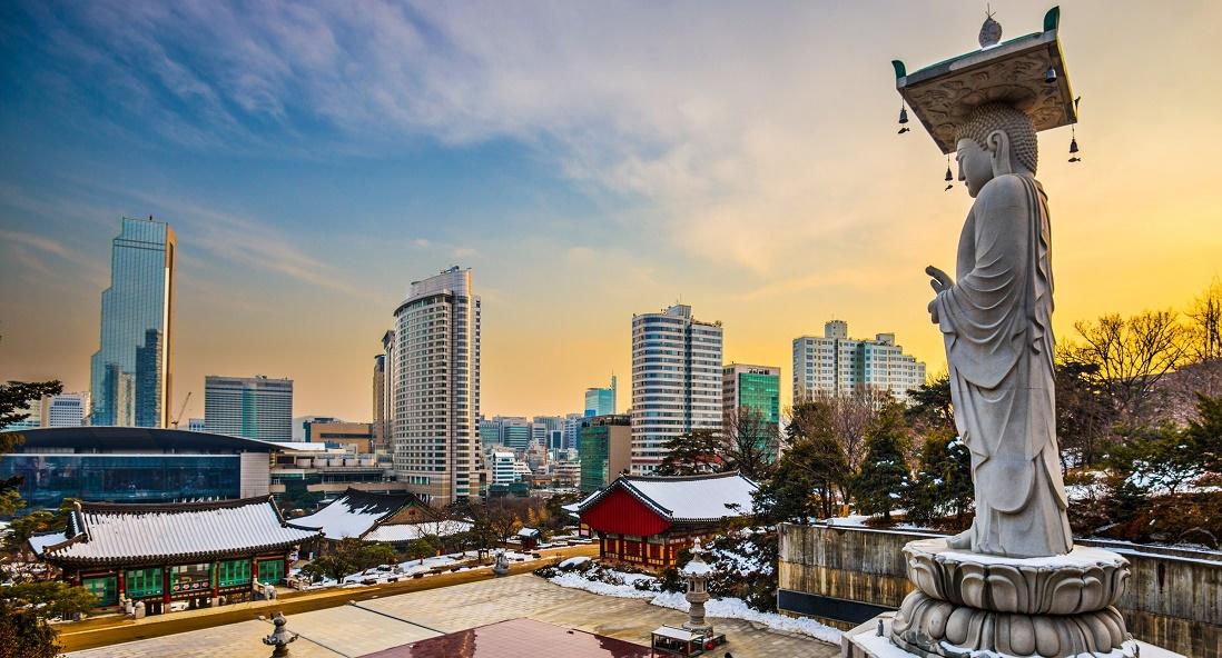 Дешевые авиабилеты Владивосток - Сеул (Южная Корея)