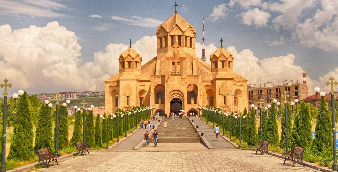 Дешевые авиабилеты Санкт-Петербург ⇄ Ереван (Армения)