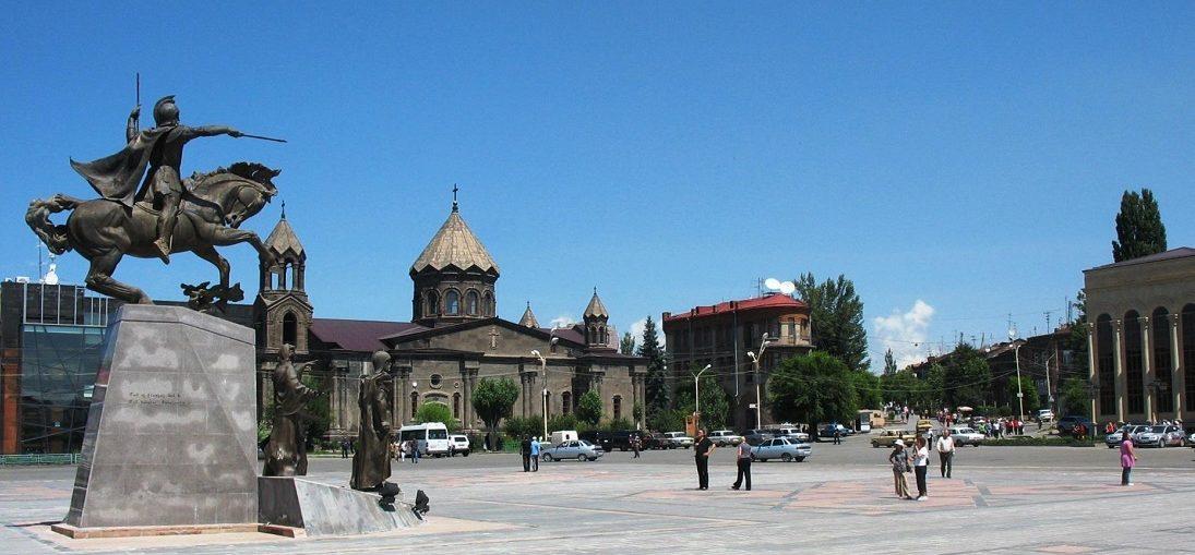 Дешевые авиабилеты Санкт-Петербург - Гюмри (Армения)