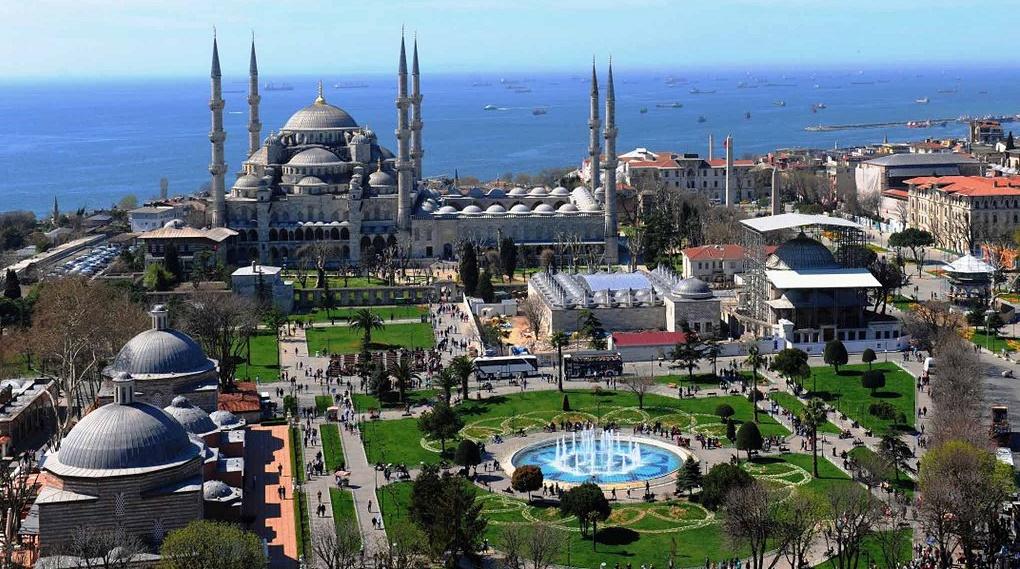 Дешевые авиабилеты Минск - Стамбул (Турция)