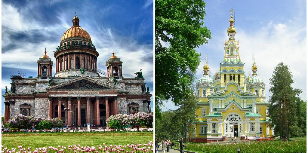 Дешевые авиабилеты Санкт-Петербург - Алматы / Алматы - Санкт-Петербург