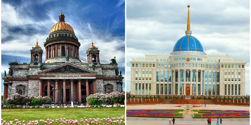 Дешевые авиабилеты Санкт-Петербург - Астана / Астана - Санкт-Петербург