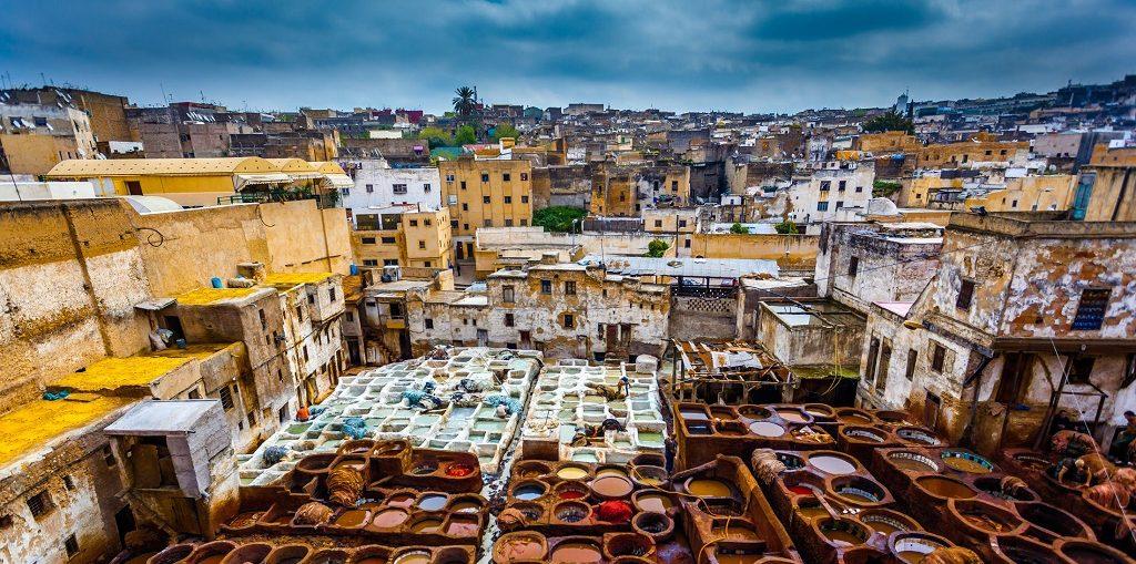 Дешевые авиабилеты Санкт-Петербург - Фес (Марокко)