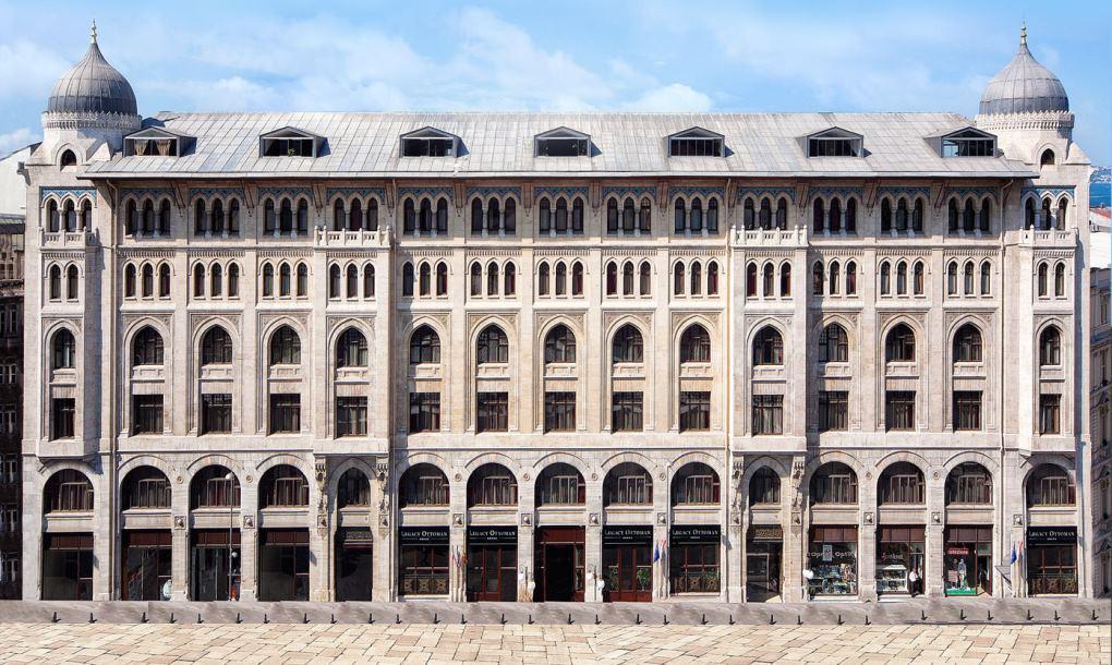 отели в районе султанахмет Legacy Ottoman-Hotel