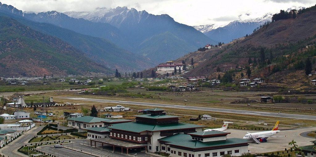 Дешевые авиабилеты Москва - Паро (Бутан)
