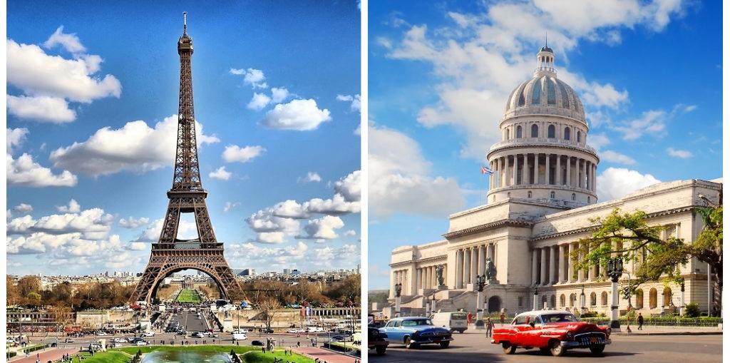 Дешевые авиабилеты Париж - Гавана / Гавана - Париж