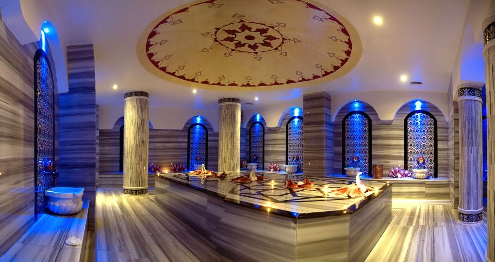 Турецкая баня в Алании Хаммам