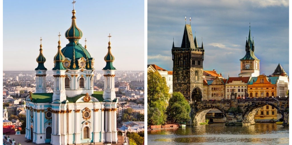 Дешевые авиабилеты Киев - Прага / Прага - Киев