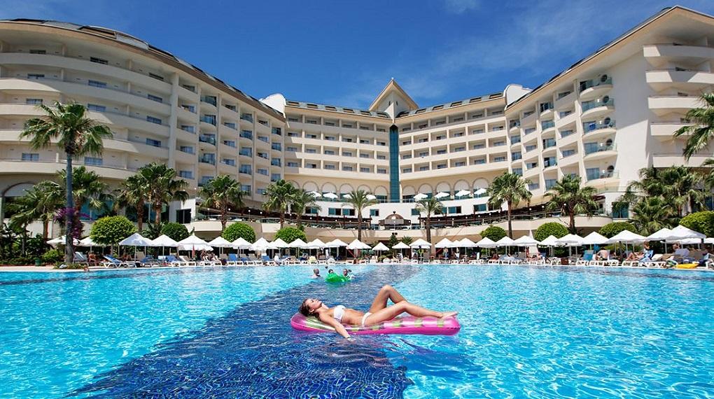 самые популярные отели алании 5 звезд-saphir resort spa