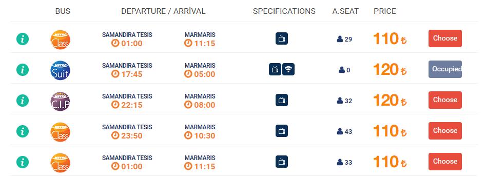 стамбул мармарис расписание автобусов