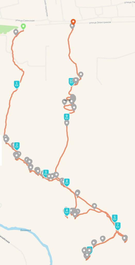 торгашинский хребет красноярск маршрут