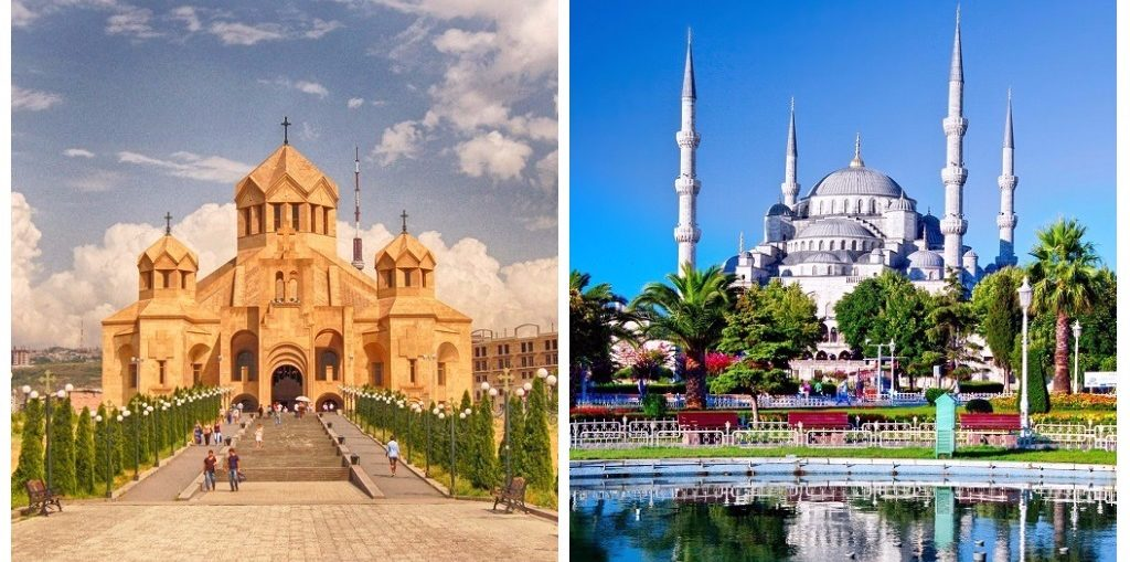 Дешевые авиабилеты Ереван - Стамбул / Стамбул - Ереван