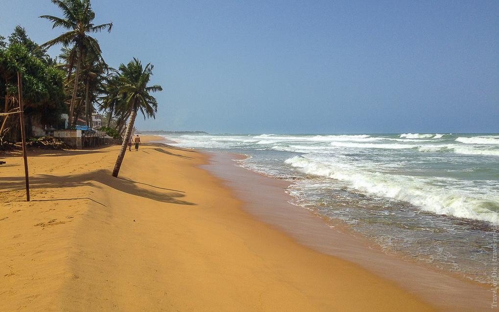 Citrus Hikkaduwa 4*, пляж 2