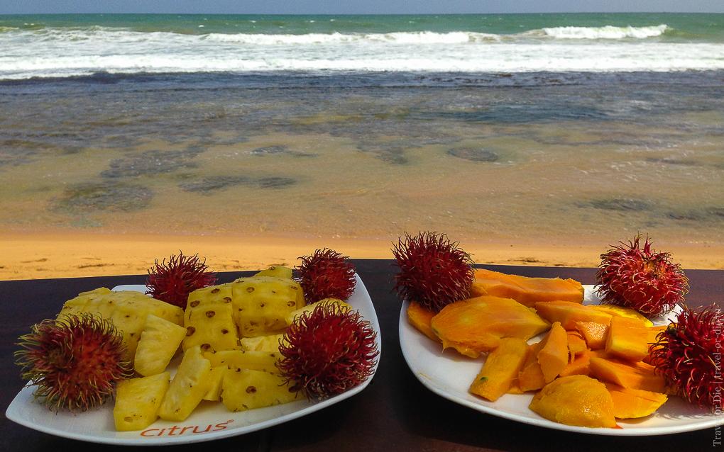 Citrus Hikkaduwa 4*, питание, завтрак