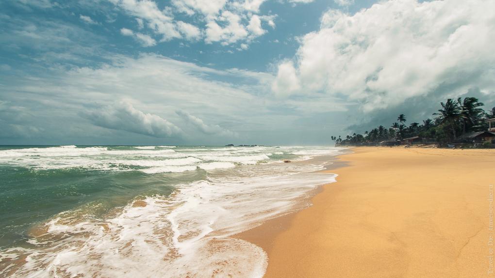 хиккадува шри ланка пляжи