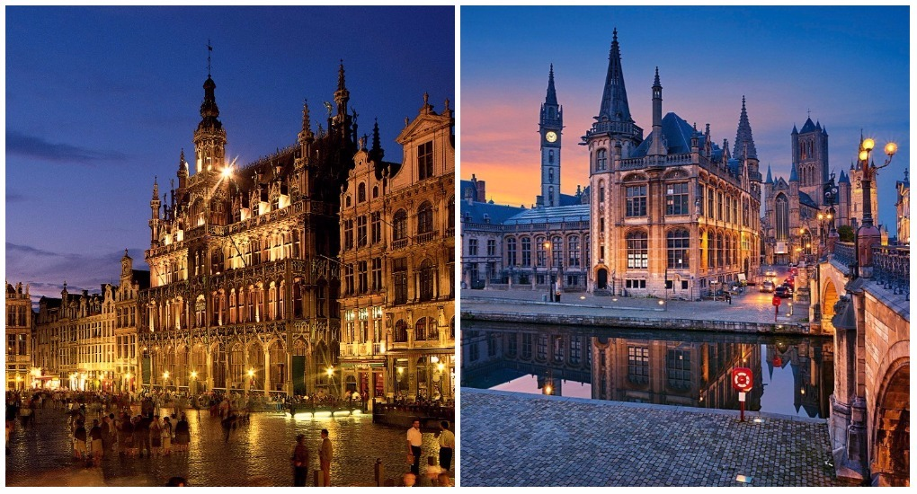 экскурсия амстердам брюссель