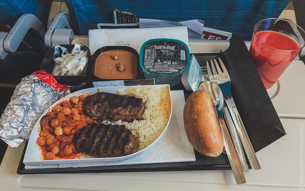 москва стамбул turkish airlines чем кормят 2