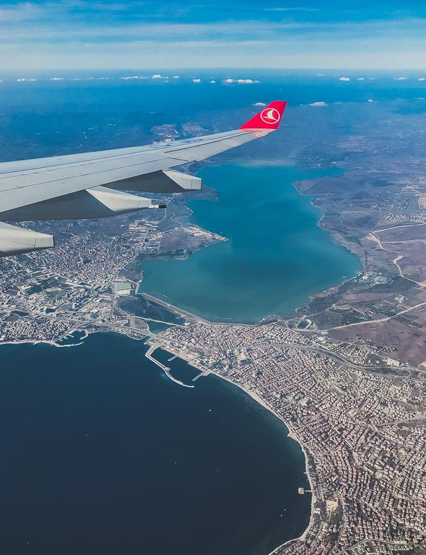 москва стамбул турецкие авиалинии вид из самолета 2