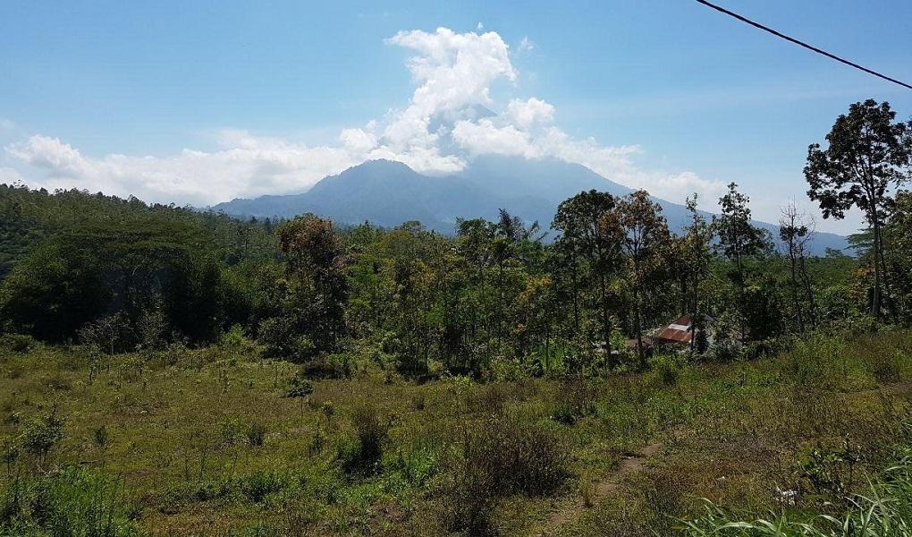 вулкан агунг 2