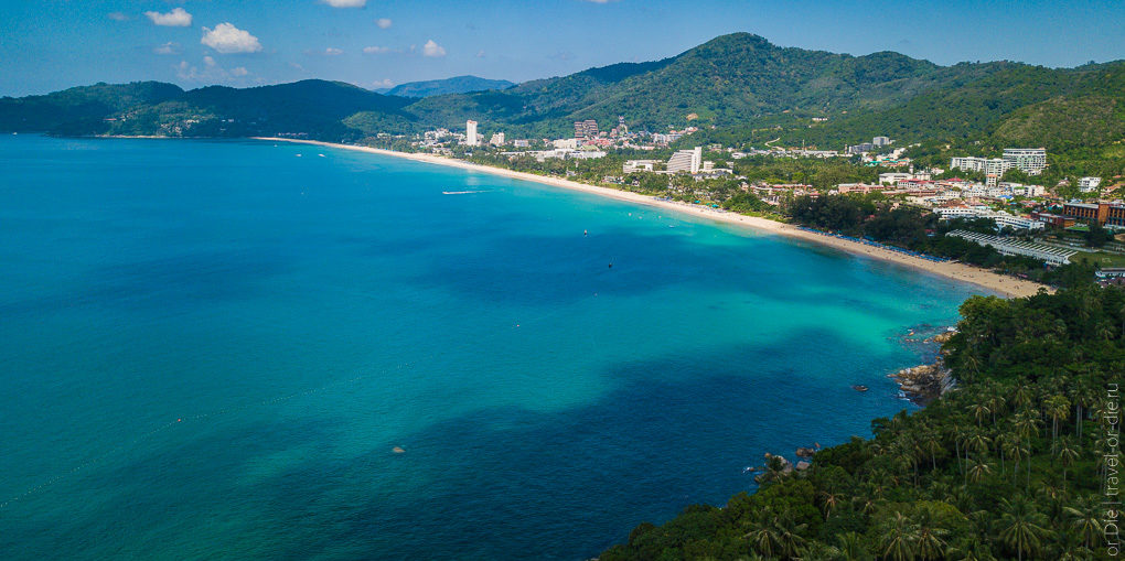 пляж карон бич пхукет karon beach phuket