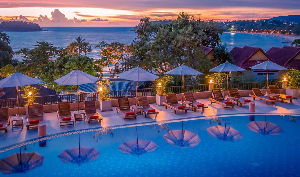 Лучшие отели 4 звезды на пляже Ката Бич