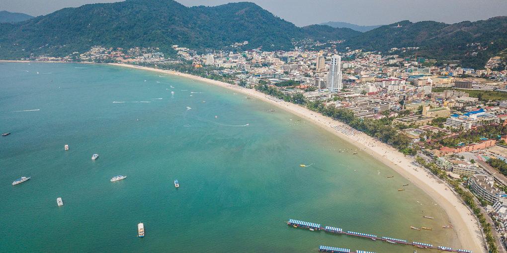 Пляж Патонг Бич Таиланд Patong Beach