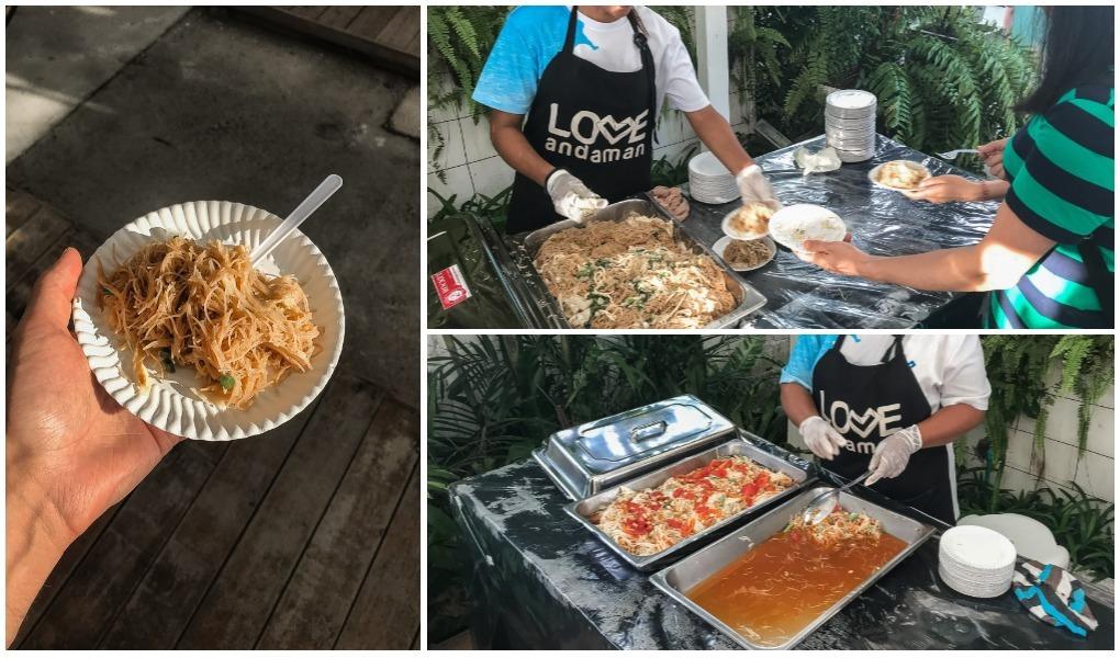остров сурин еда