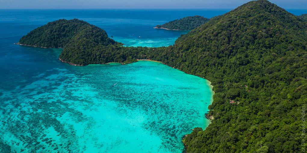 экскурсия на острова сурин суринские острова