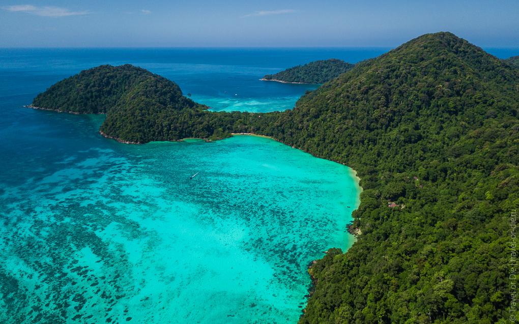 острова сурин суринские острова