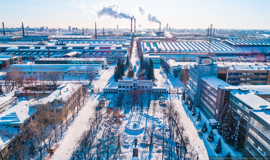 Экскурсии на завод Уралмаш в Екатеринбурге